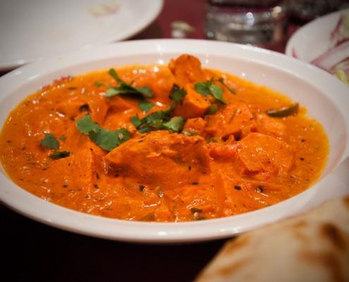 Poulet Vindaloo Namasté Restaurant Indien Toulouse