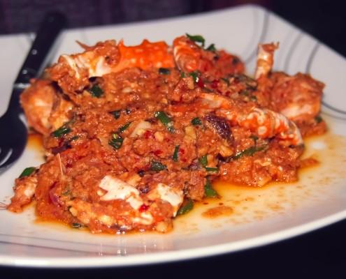 Gambas au Curry Namasté Restaurant Indien Toulouse